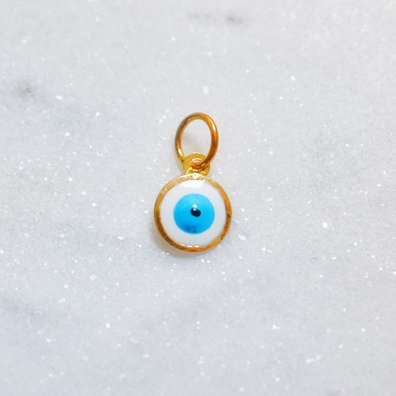 Evil Eye Earring Charm