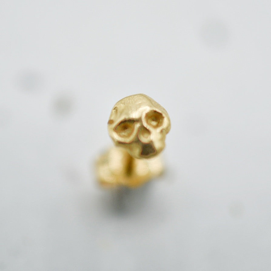 Single Skull Earring