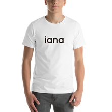 Load image into Gallery viewer, Unisex T-Shirt: iana = I Am Not Alone