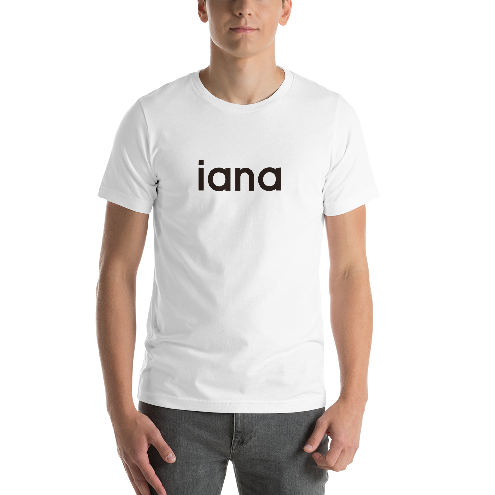 Unisex T-Shirt: iana = I Am Not Alone