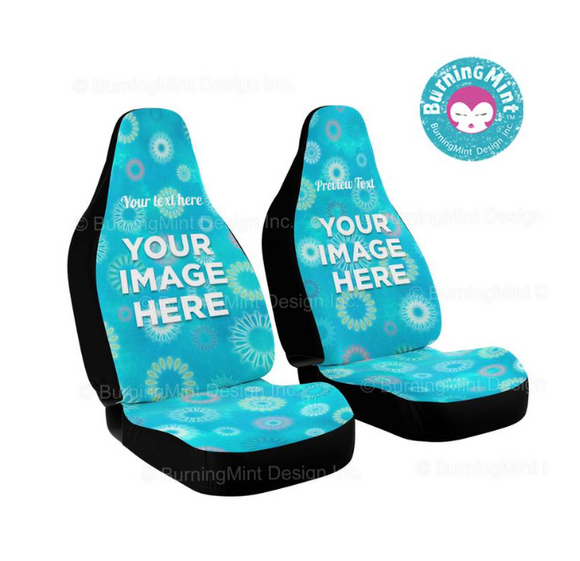 Personalized Car Seat Covers