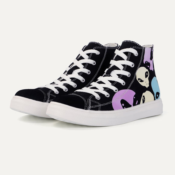 Colour Changing Converse High Top Canvas Shoe