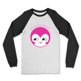 BurningMint® Cute Emoji Girl 1 Classic Raglan Long Sleeve Shirt