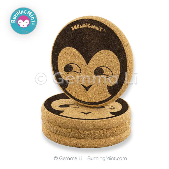 BurningMint Emoji Coasters, Beer Coasters, Cute Coasters, Cork Coaster Sets, Buy USA, Shipped Worldwide,   Round Coasters, emoji coaster sets, cute coasters, Fun Coasters, Funny coasters, cool coasters, gifts for teenagers, gifts for her, party gifts, Cork Coaster Sets, Cool Round Coasters, Coasters for Women, Round Coasters for Girls, 4th of July gifts, gifts for Millennials,