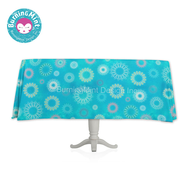 BurningMint™ Decorative Tablecloths | Pretty Cotton Tablecloths |  Beautiful tablecloths [🇺🇸 Made in USA! Ship Worldwide]