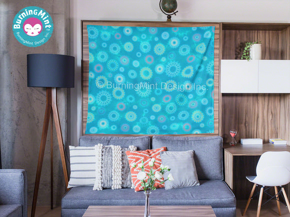 BurningMint™ Wall Tapestries | Fireworks Wall Tapestry