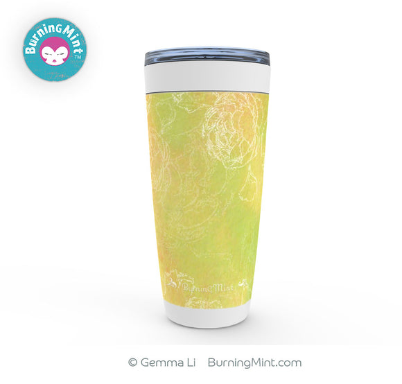 Double Wall Insulated Tumbler, Stainless Steel Tumbler, 20oz Viking Tumbler, Kitchen Decor, Birthday Gifts, Springtime Tumbler, BurningMint™ Drinkware