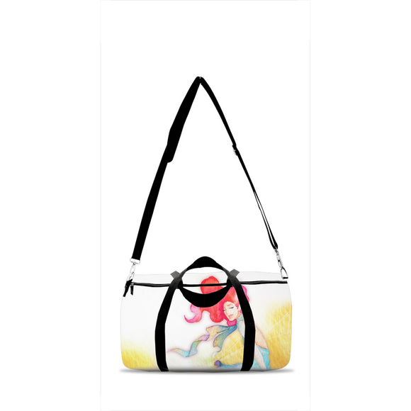 Trendy Duffle Bags with Beautiful Art