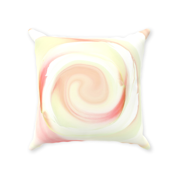 BurningMint™ Floral Throw Pillow With Insert  | High-quality Throw Pillows | Rosy Throw Pillow [Ships Worldwide]