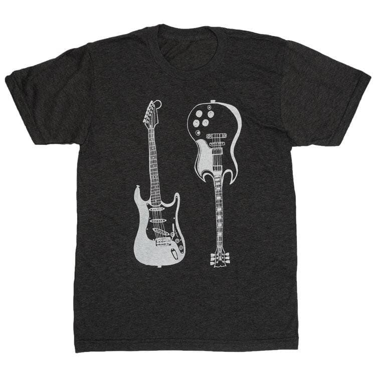 ROCK GUITARS - ADULT TEE
