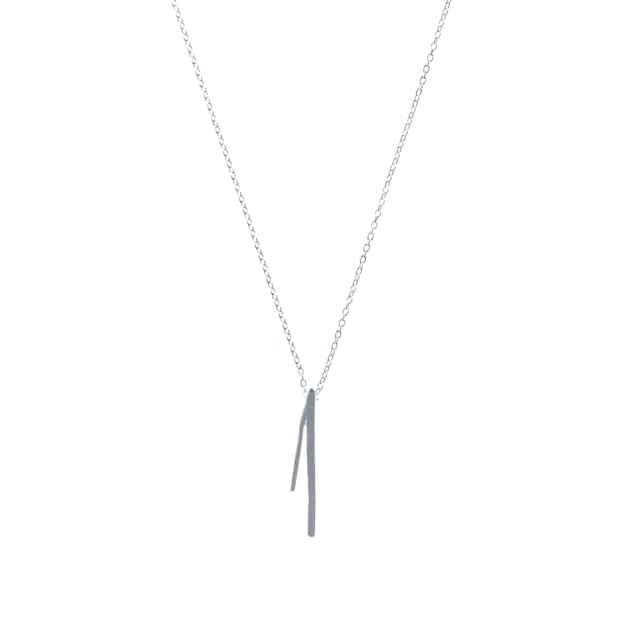 Petite Flare Necklace Sterling
