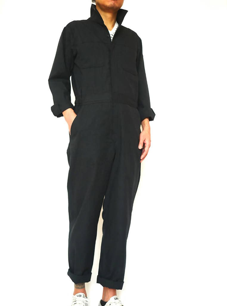 Tsunagi Boilersuit Black