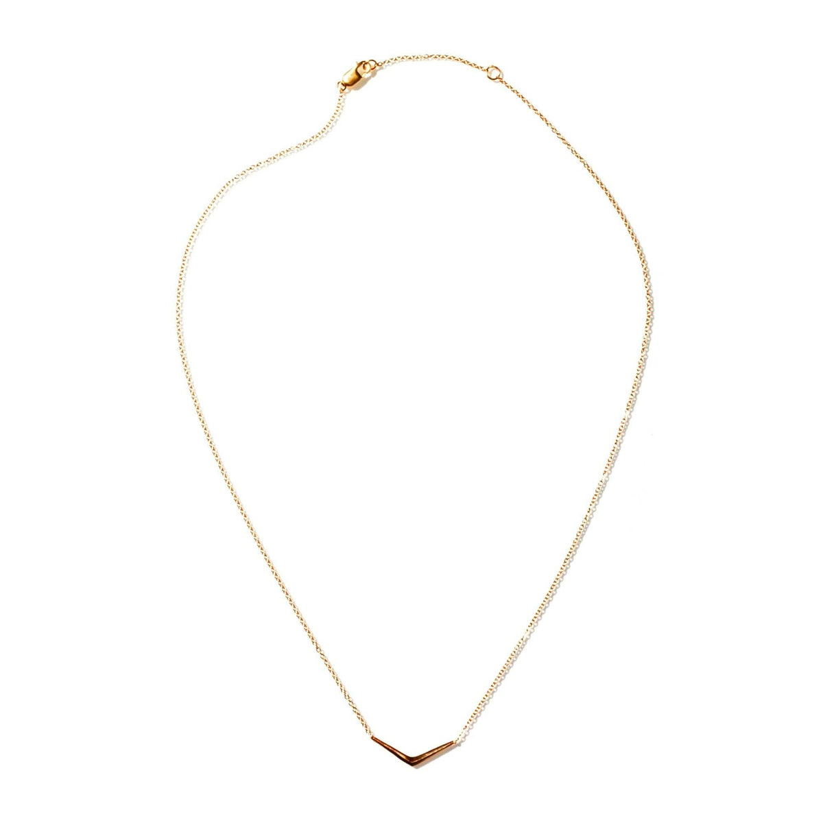 PETITE RAY NECKLACE GOLD