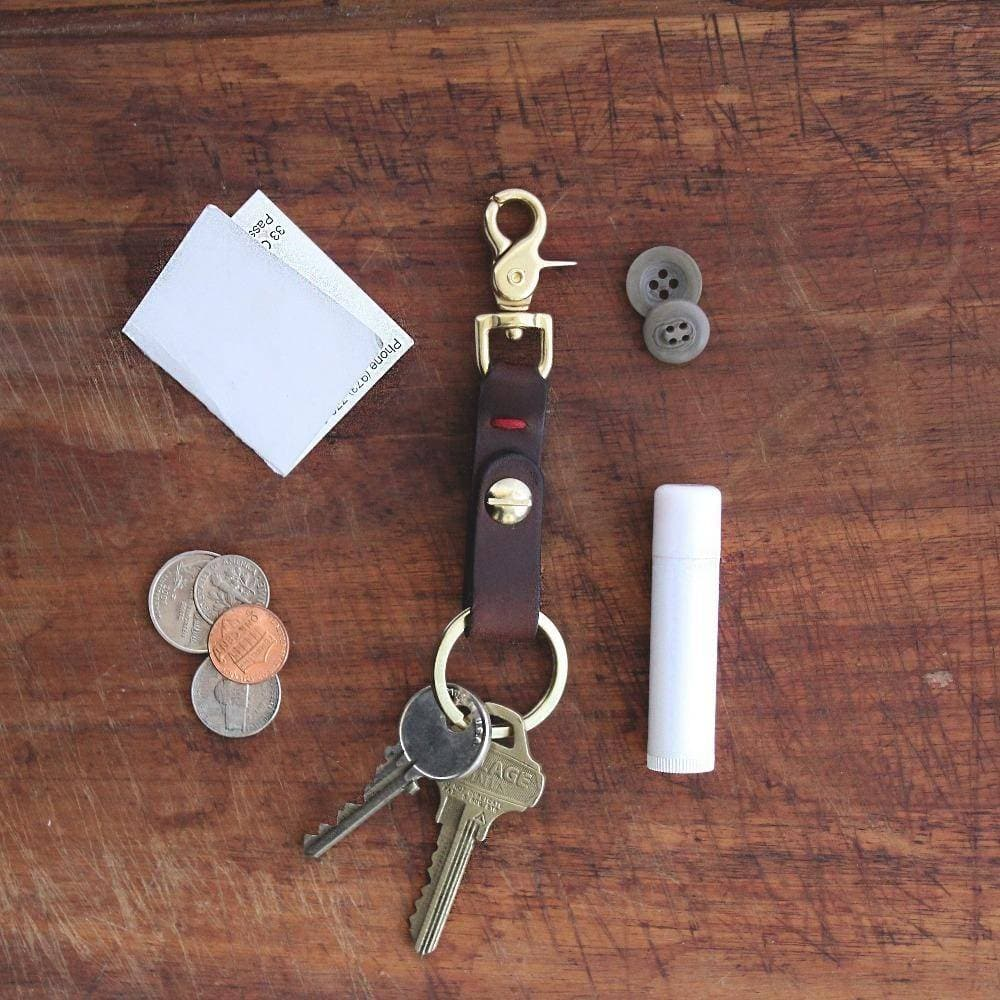 Swivel Clip Keychain (Natural)