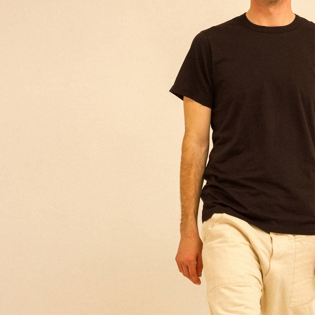 BLACK PIMA T-SHIRT