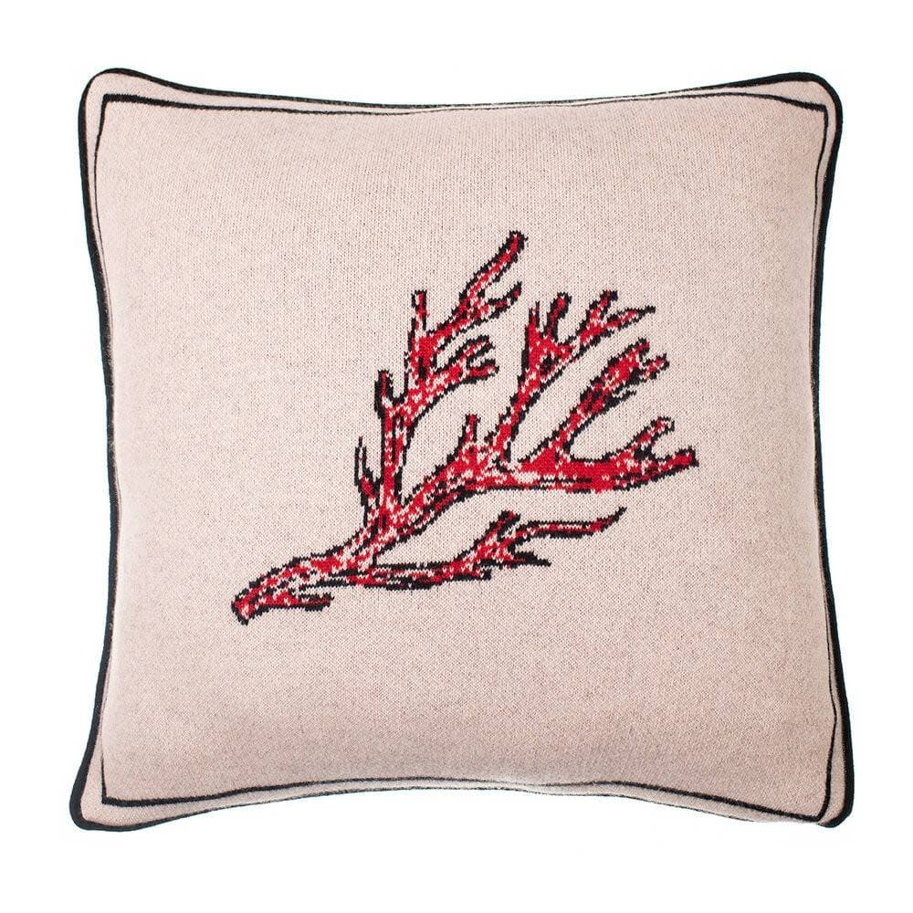 FEE GREENING - FIRE CORAL PILLOW