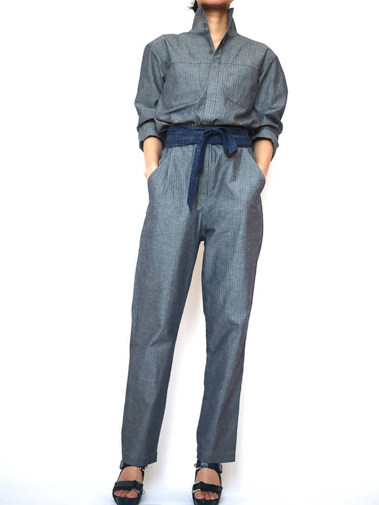 Tsunagi Boilersuit Navy