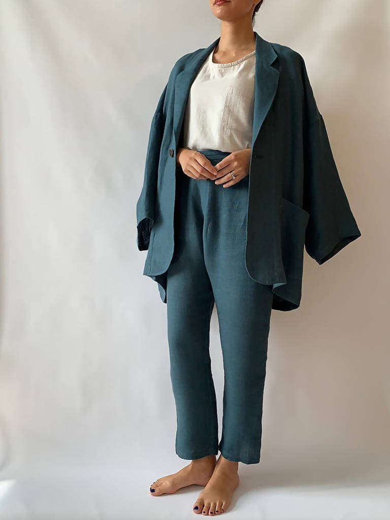 Unisex One-Size Linen Jacket
