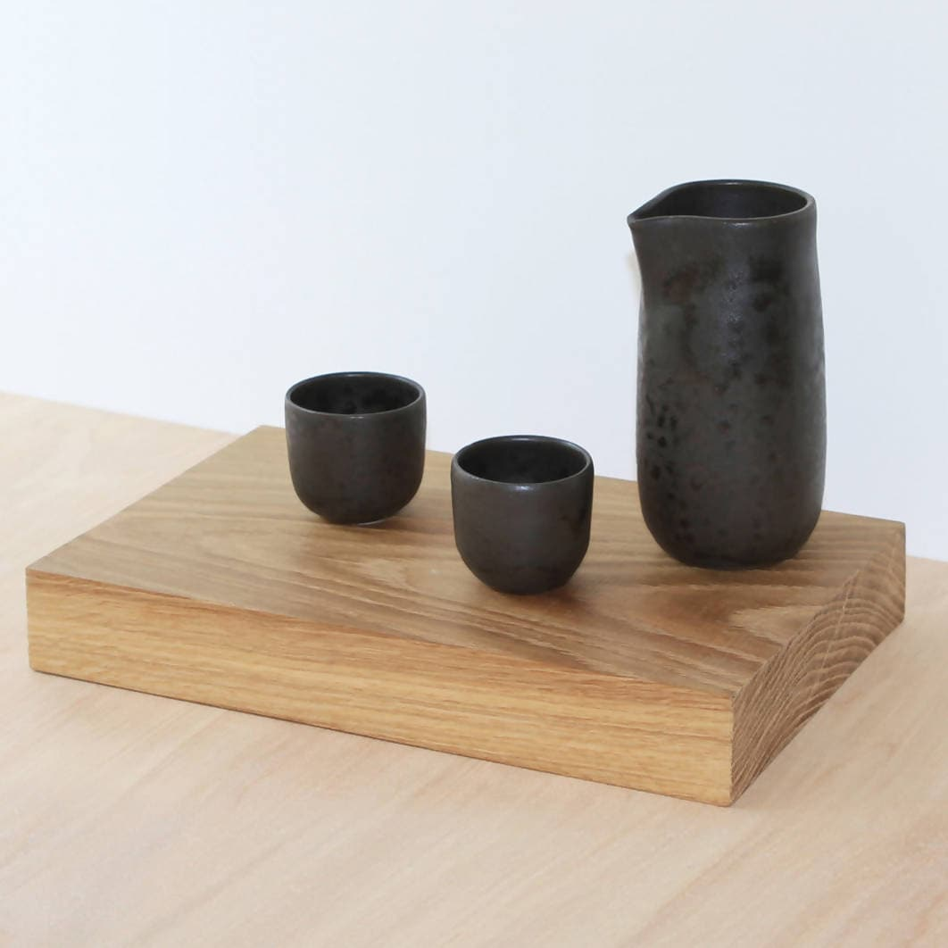Sake Set (Black)