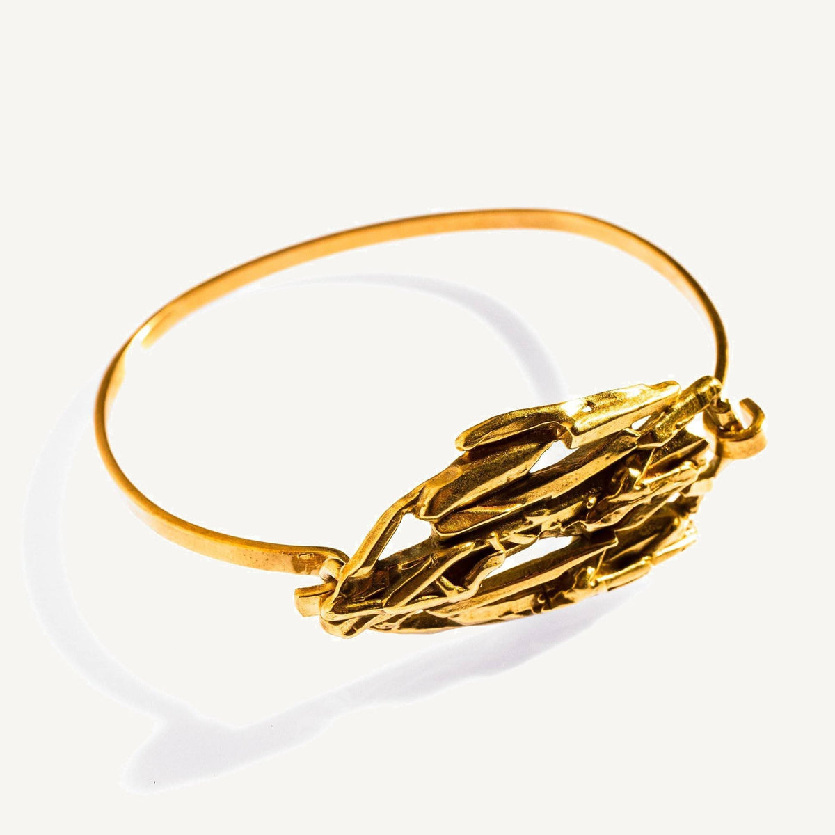 Cuarzo Tension Cuff Brass