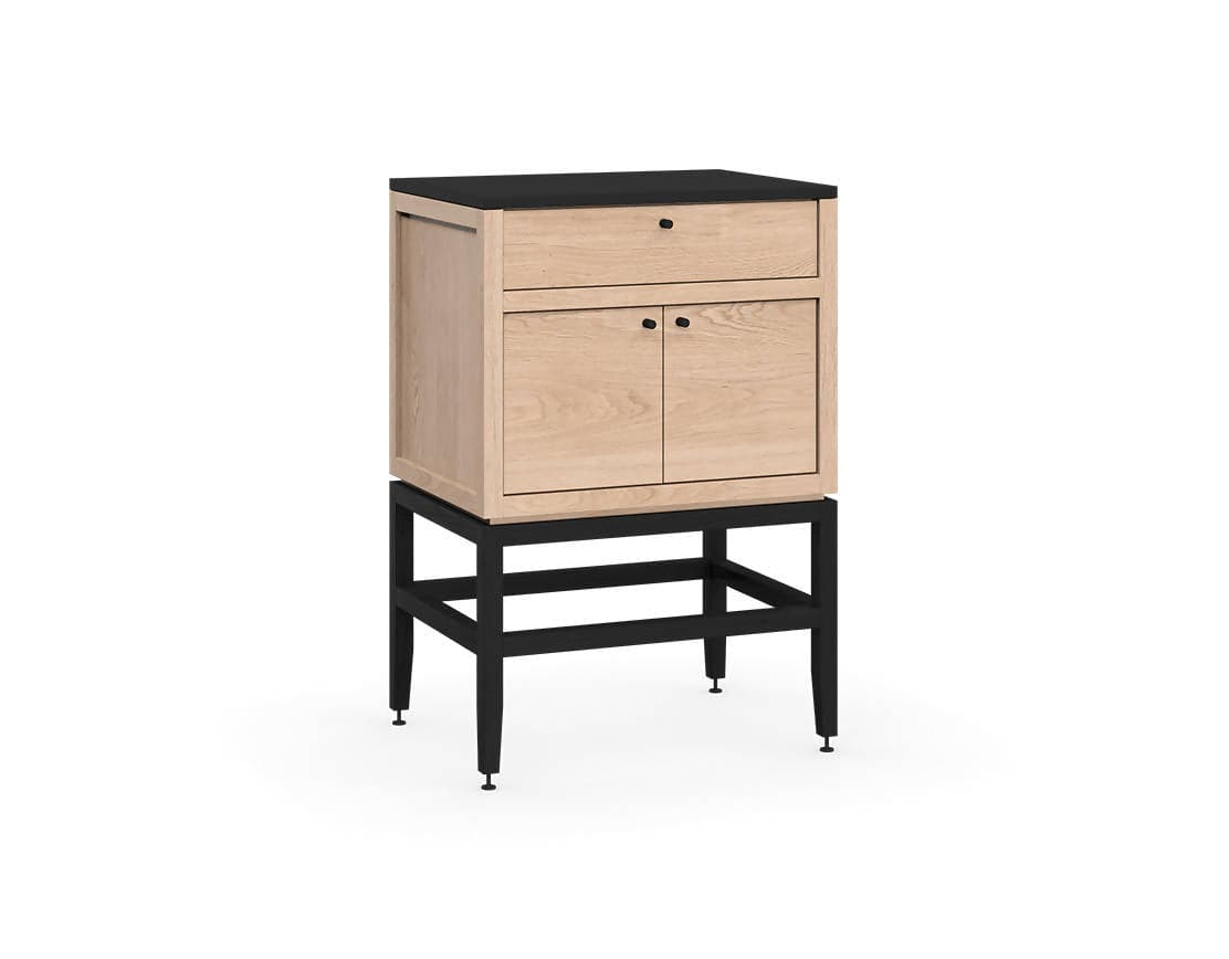 Volitare Bathroom Vanity By Coquo Midnight Black Stained Oak Field Supply
