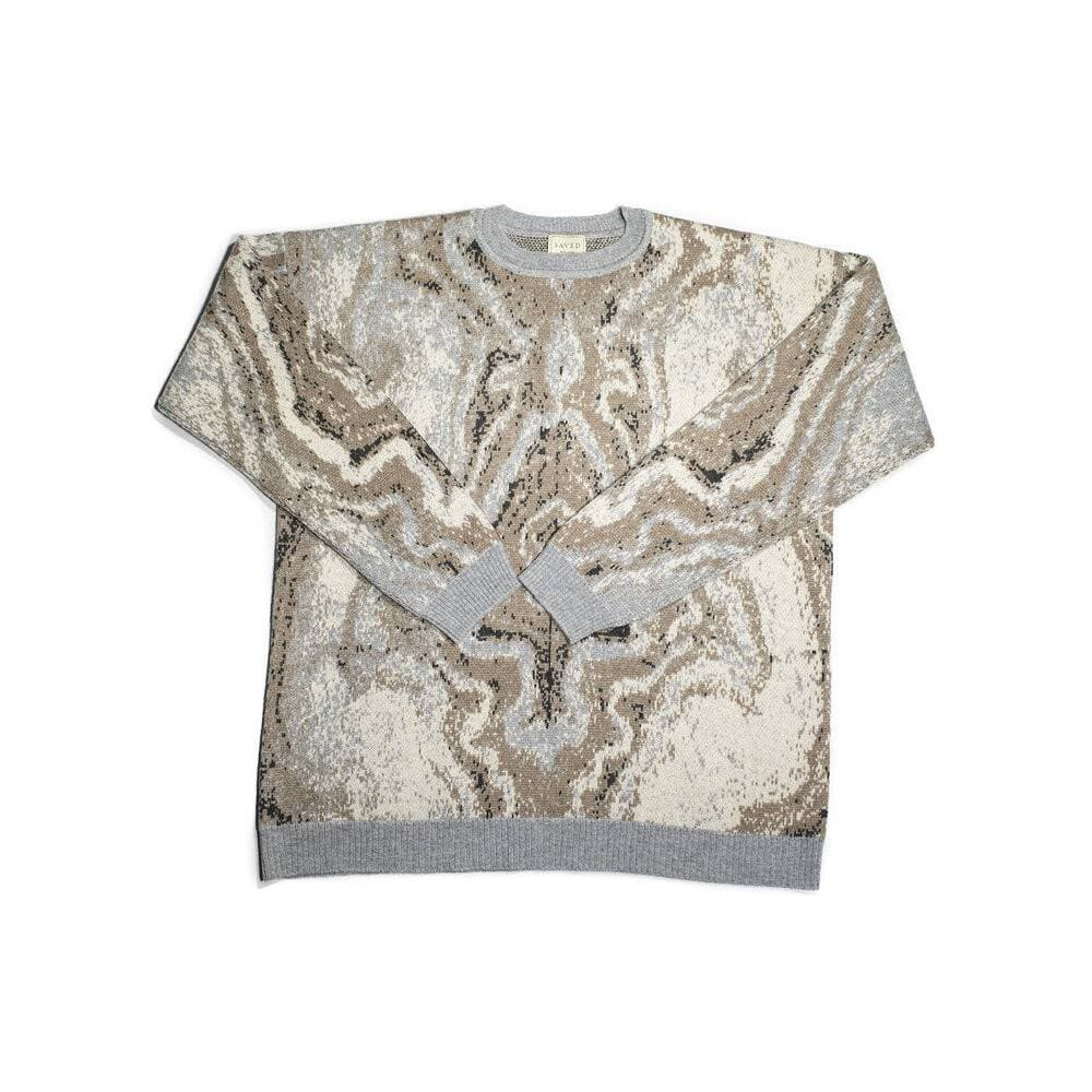 MARBLE MIRROR SWEATER
