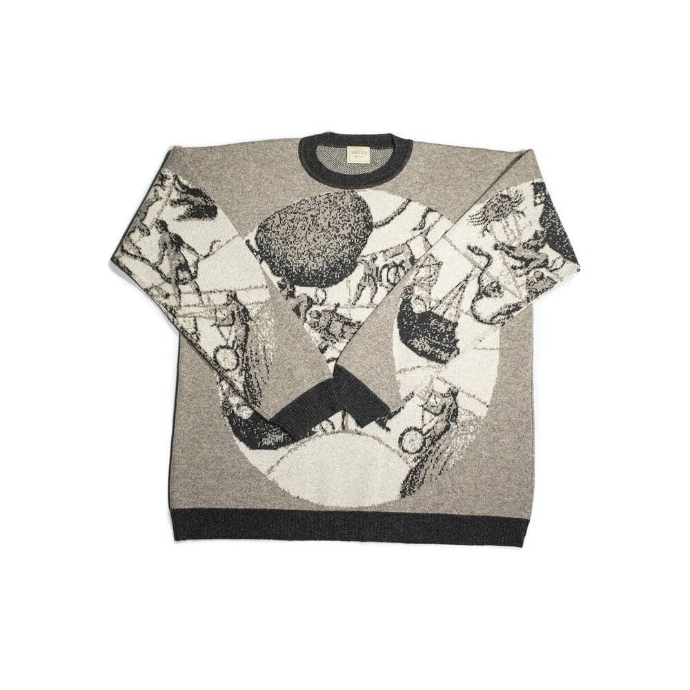 CELESTIAL GLOBES SWEATER