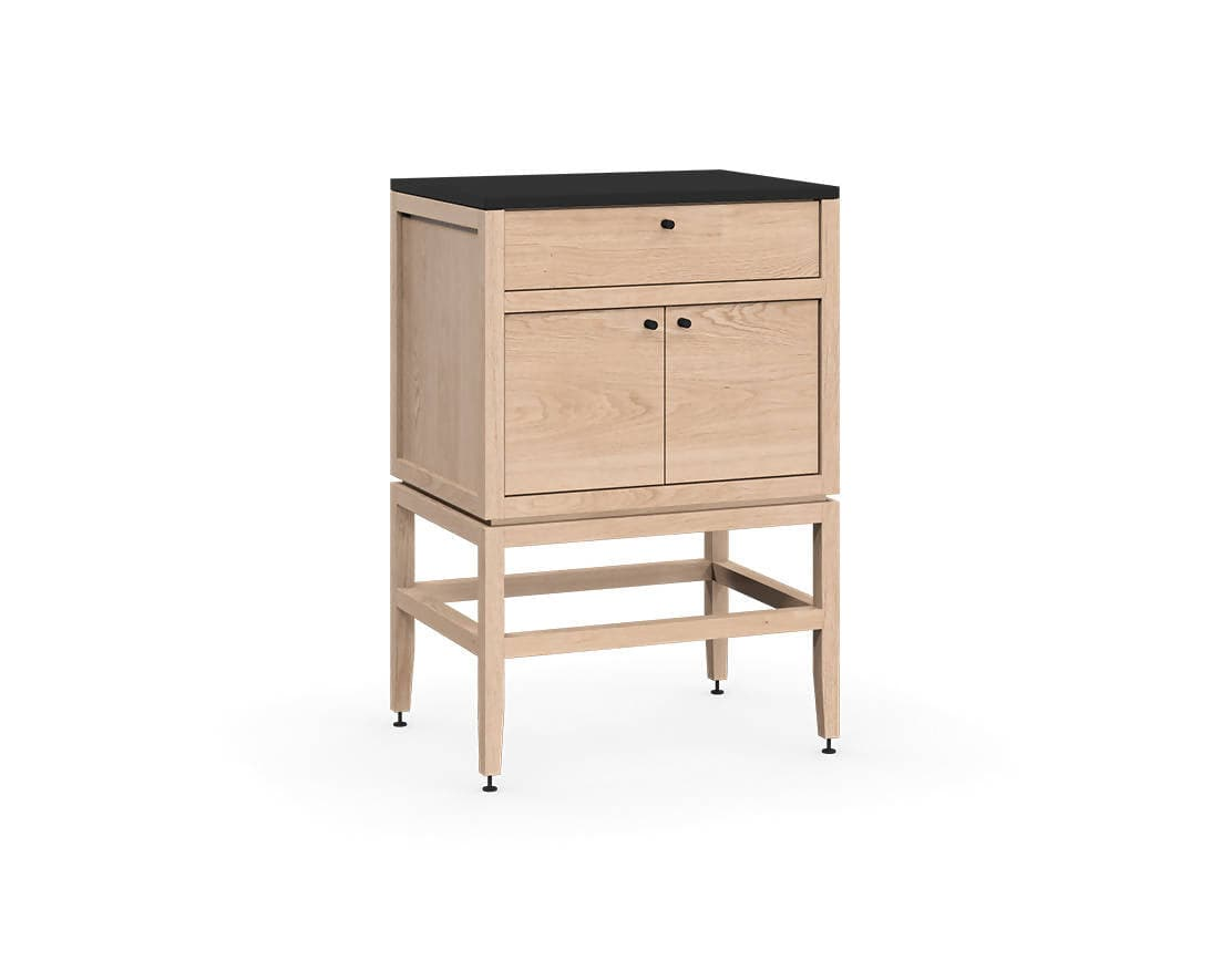 Volitare Bathroom Vanity (White Oak)