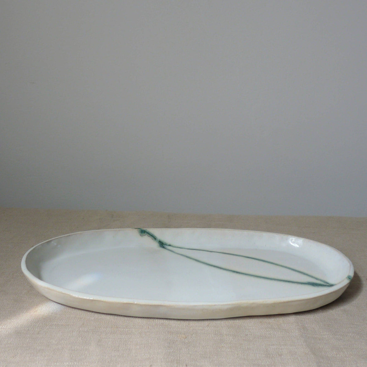 Seismic Wave Serving Platter // No. 02