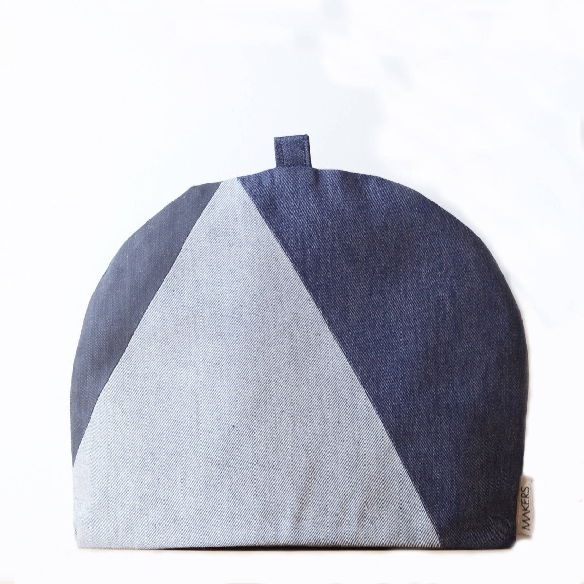 Pieced Denim Big Tea Cosy