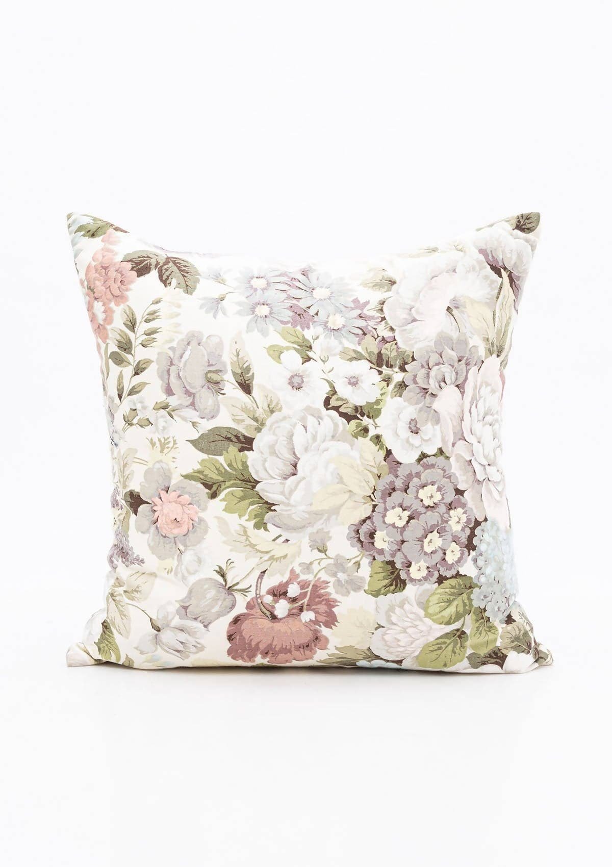 Vintage Pastel Rose Pillow