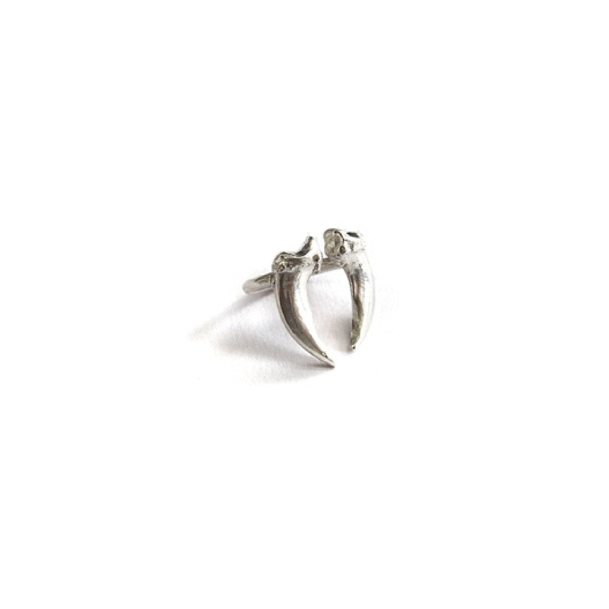 Sterling Double Claw Ring