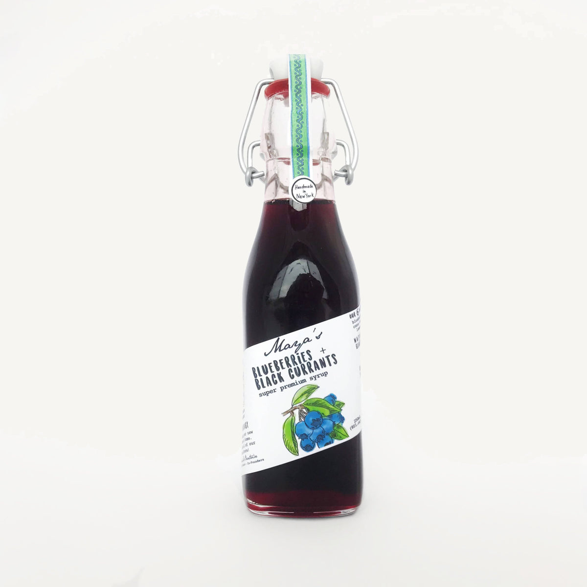 Wild Blueberry + Organic Black Currant Syrup (16 drinks)