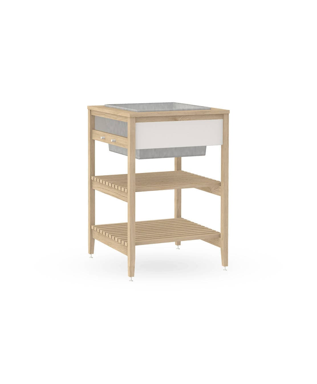 Radix Urban Planter (White Oak)