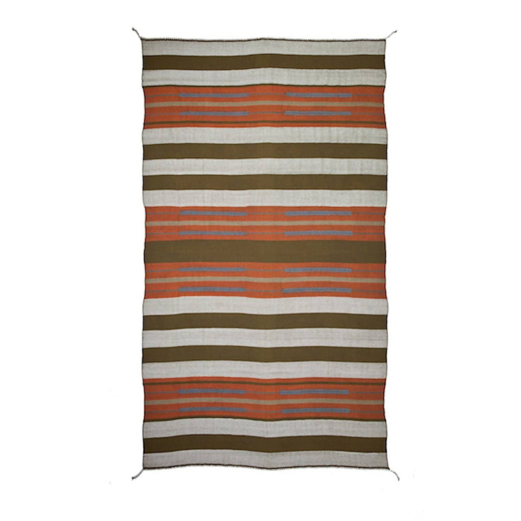 SABA CHIEF BLANKET persimmon | mole