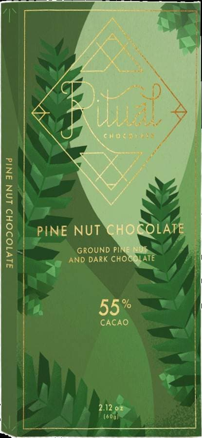Ritual Pine Nut Chocolate 55%