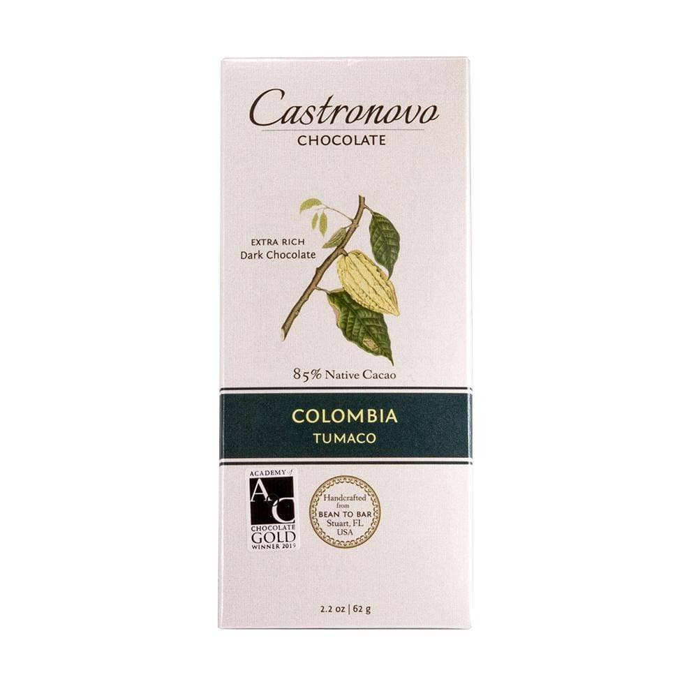 Castronovo Colombia Tumaco Dark Chocolate 85%