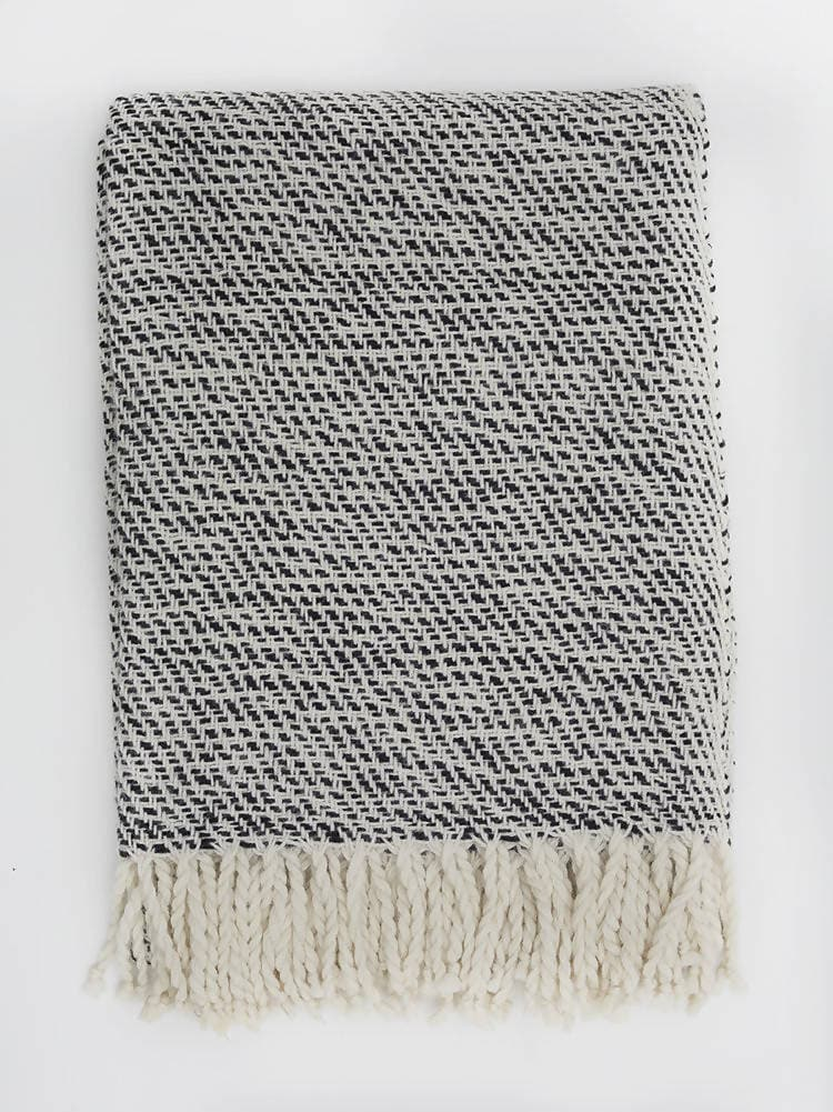 TIKA HAND-WOVEN THROW