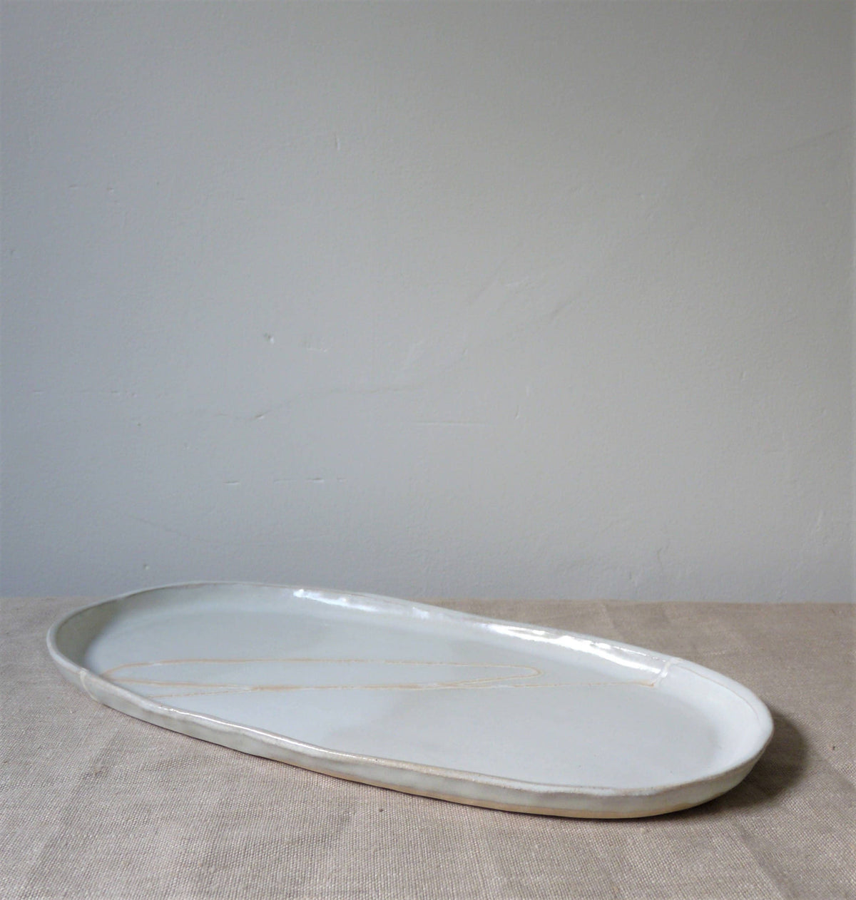 Sunset Horizon Serving Platter