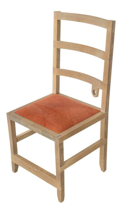 Monolith Ladder-back Chair