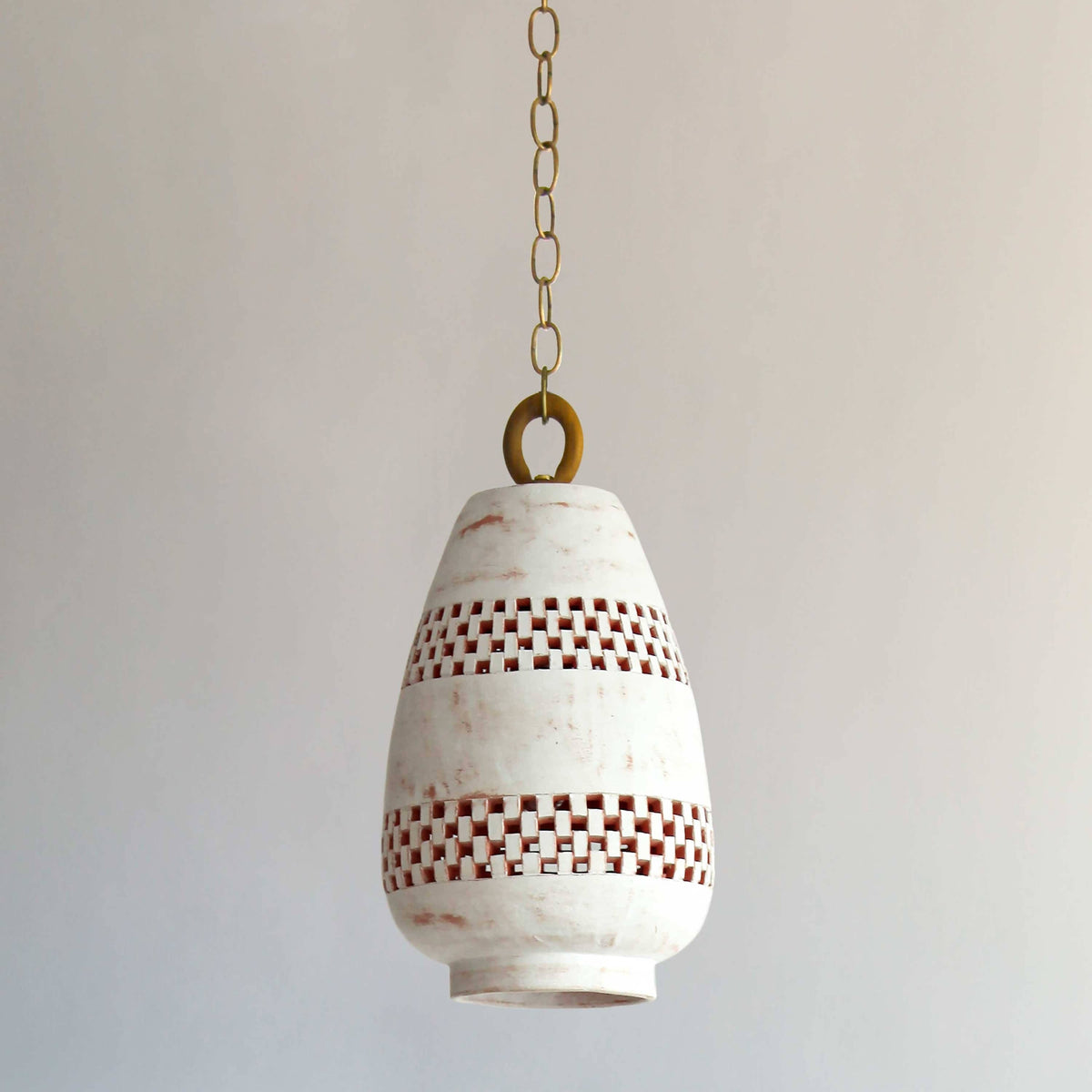 Atzompa Lighting - Ajedrez Pendant, size A