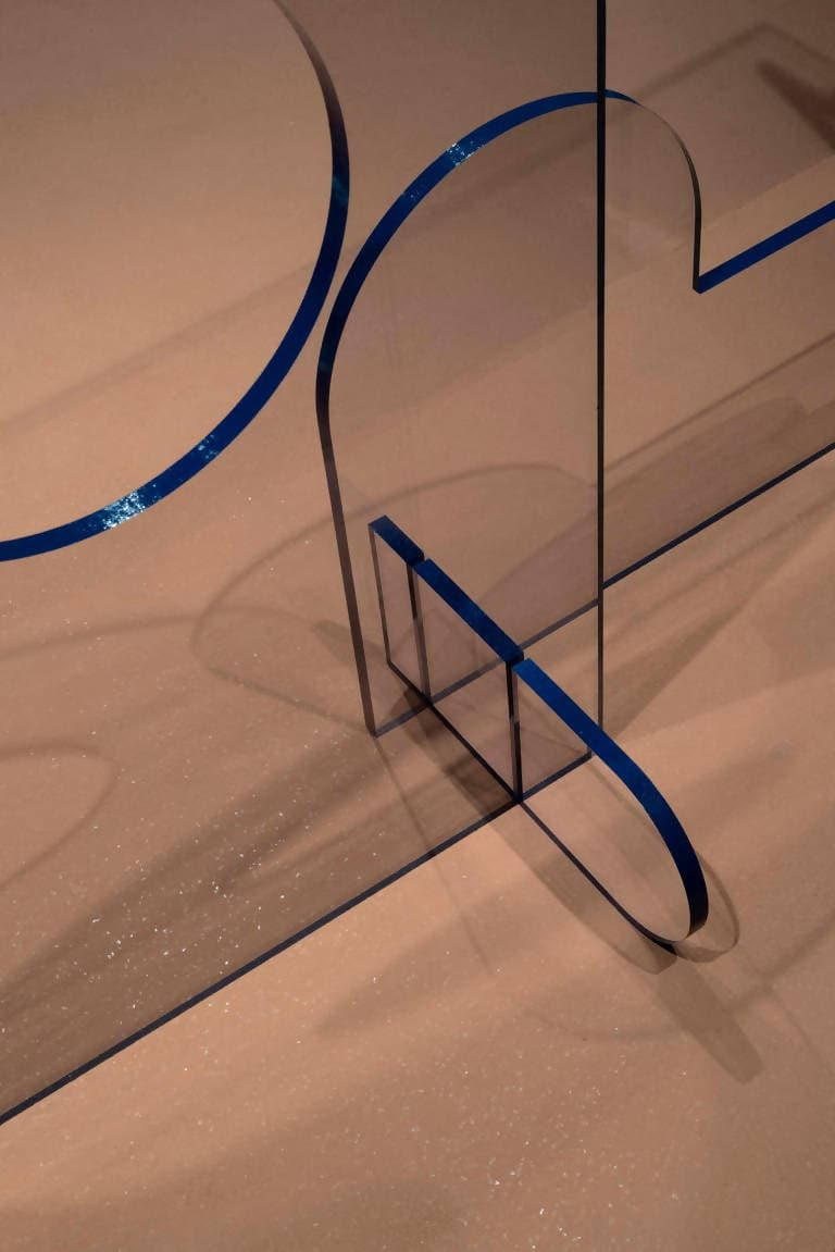 Lexan Console Table