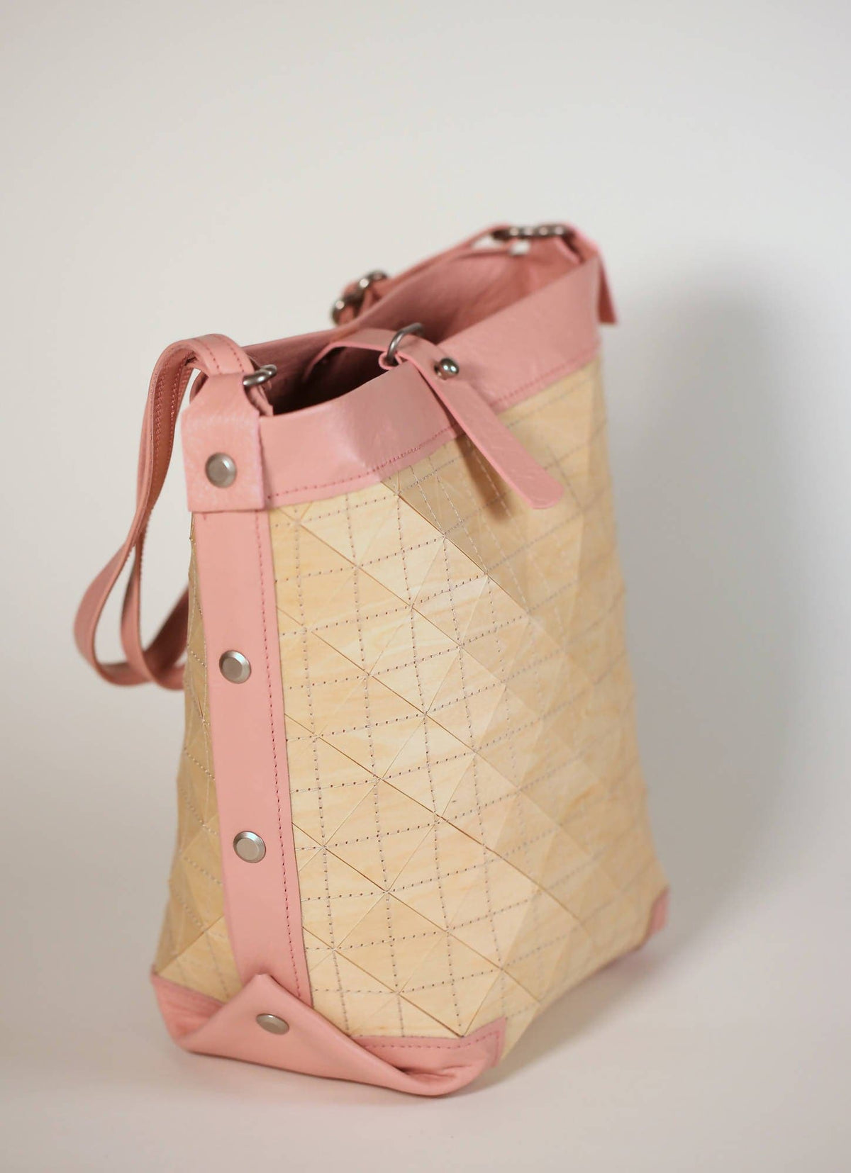 Bucket Bag in Blush