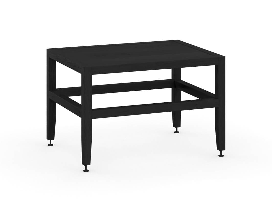 Volitare Bench/Low Table (Midnight Black Stained Oak)