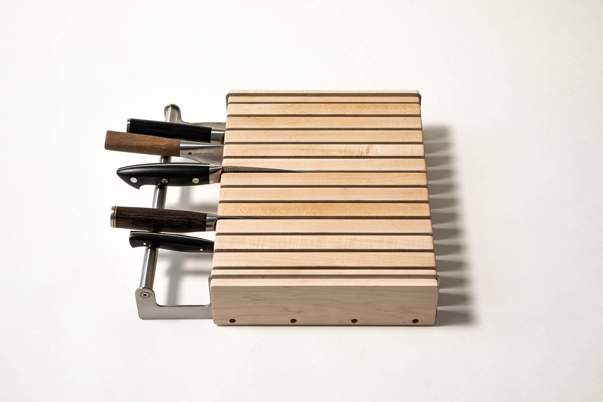 "Knife Block - holds up to 8"" knives"