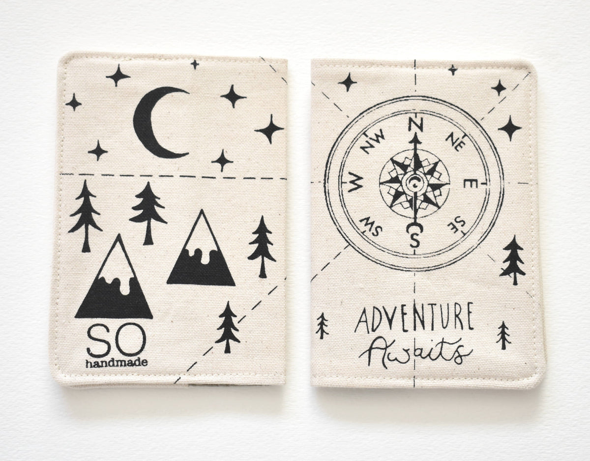 Wanderlust Passport Holder