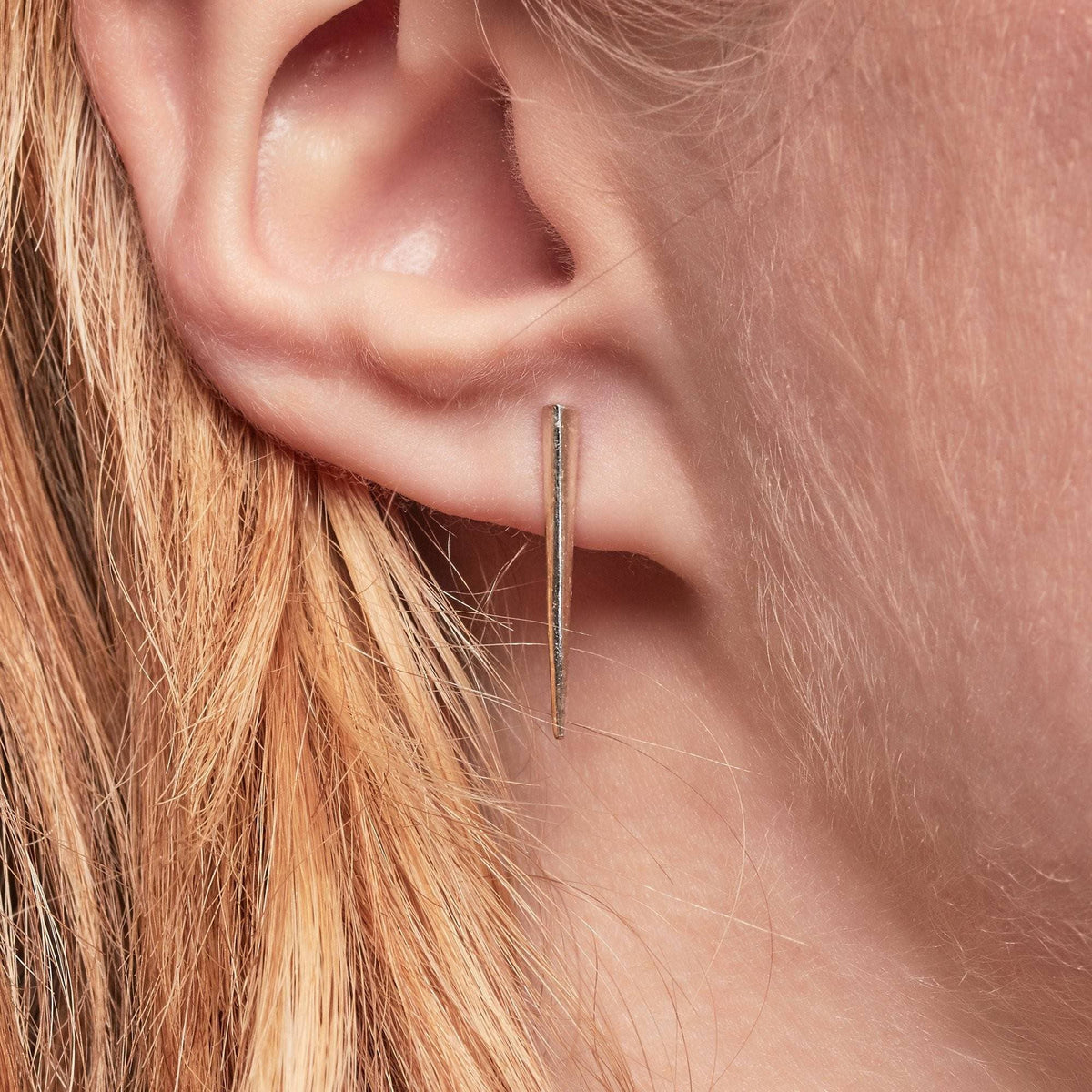 Petite Telson Ear Climber Sterling