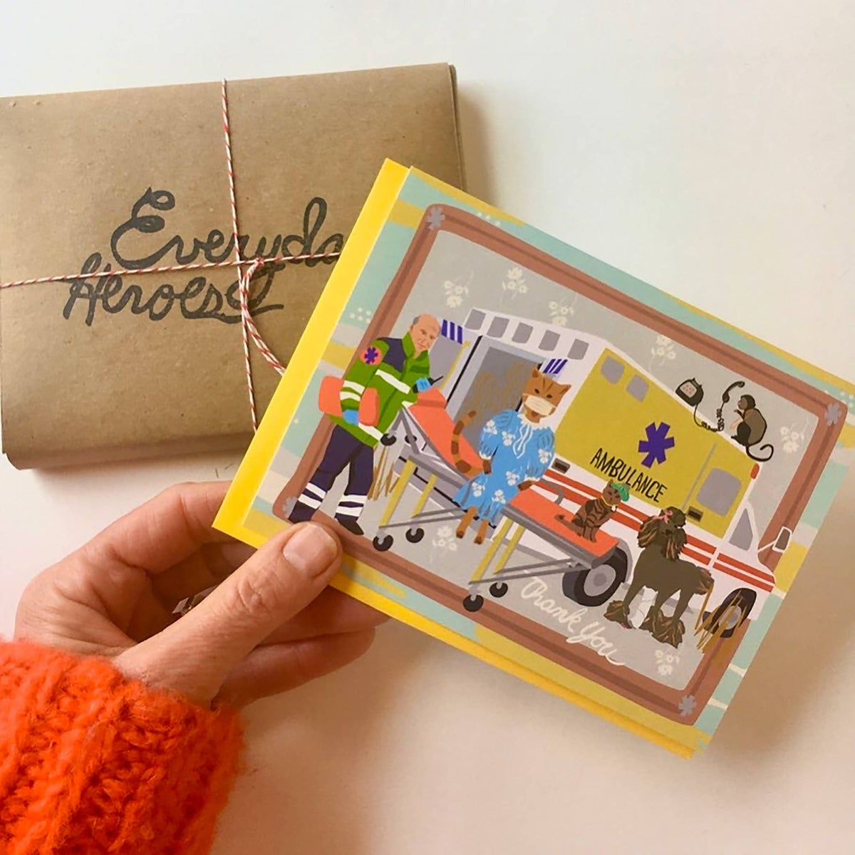 Everyday Heroes Note Card Set
