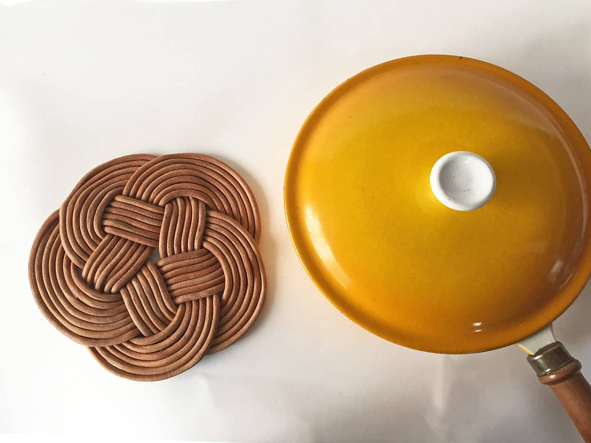 Leather Knot Trivet