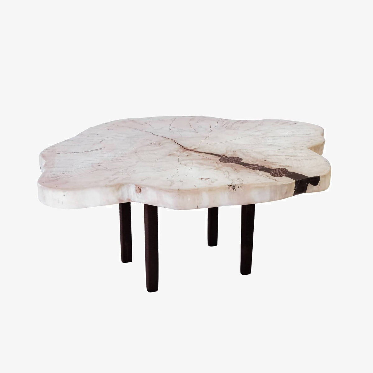 Bleached Ambrosia Maple Coffee Table